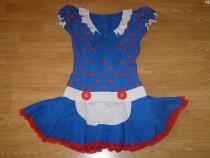 Costum carnaval serbare menajera pentru adulti marime M-L