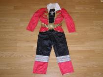 Costum carnaval serbare power rangers ninja 5-6 ani