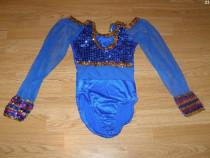 Costum carnaval serbare body dans balet gimnastica 7-8 ani