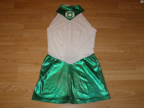 Costum carnaval serbare green lantern pentru adulti marime S