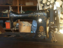 Masina de cusut vintage de colectie Durkopp Schutz Marke