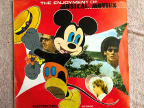 Disc vinil the enjoyment of musical movies lp electrecord
