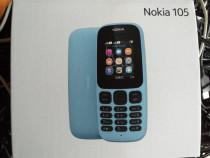 Nokia 105 dual sim liber de retea nou sigilat la cutie