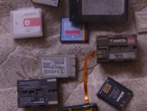 Lot baterii camere foto video
