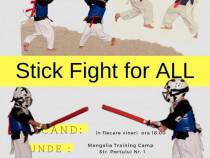 Antrenament Mangalia Stick Fight şi pentru copii