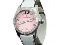 Ceas Corum Bubble Stainless Steel Diamond Bezel
