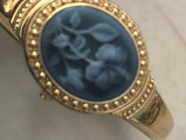 Ceas Q&Q dama quartz auriu