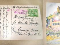 A596-I-WW1-Carti postale cu Stampile militare speciale.