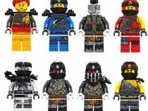 Set 8 Minifigurine tip Lego Ninjago sezon 9 cu Skylor