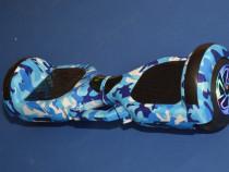 HoverBoard Blue Camuflaj 1000w cu garantie