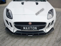 Prelungire splitter bara fata Jaguar F-Type 2013- v1