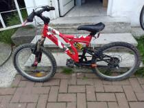 Bicicleta copii B twin roti 20 suspensie Shimano