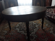 Mobila lemn masiv(masa,pat,fotolii,sifonier,servanta)