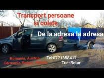 Transport persoane și colete international