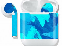 Sticker decorativ suport casti Apple AirPods,decal protectie