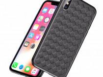 Husa Premium Grid pentru iPhone X sau Xs