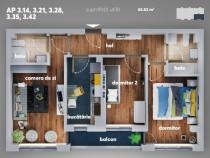 Apartament 3 camere cu mutare imediata, aparatorii patriei