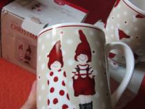 Little Christmas Town-cana portelan Rosenthal-Bavaria-cadou
