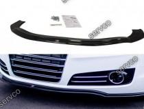 Prelungire splitter bara fata Audi A8 D4 2010-2013 v1