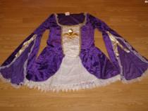 Costum carnaval serbare printesa medievala pentru adulti M-L