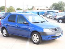 Dacia logan, 2007, 1.6mpi 87 cp e4, ac, acte la zi