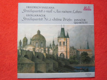 Vinil Smetana-Streichquart.-Meinem Leben,Intime Briefe-Janáč