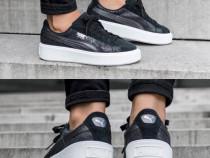 Teneși/Sneakers Puma Suede Platform Safari Wn's negri