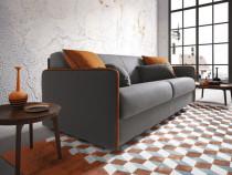 Canapea extensibila cu saltea 160/195/13 cm Madeira-in stoc