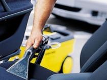 Curatare tapiterii auto cu abur