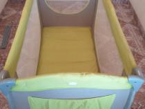 Patut pliabil Safety 1st, cu 2 nivele,made in France