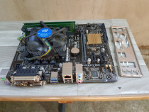 Kit placa baza Asus H81M-D R 2.0 Skt 1150+ Proc Intel G3260