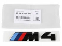 Emblema Spate Oe Bmw M4 Negru 51148068579
