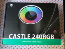 Cooler CPU Deepcool Castle 240 RGB socket Intel si AMD.