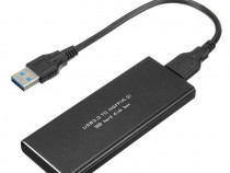 Rack Extern Hard SSD M.2 NGFF USB 3.0 PRODUS NOU