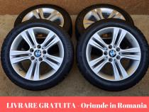 Set Jante + Anvelope Iarna R17 Bridgestone BMW Seria 3 / 4