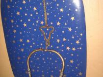 B01-Opait vechi stil medieval secol 19 anii 1800 bronz.