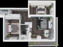Apartament 3 camere Timflex Residence Giroc