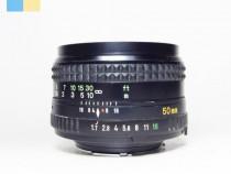 Obiectiv Minolta MD Rokkor 50mm f/1.7
