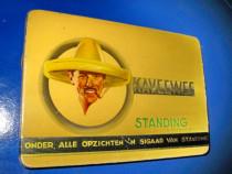 1308-Cutie tigarete KAVEEWEE veche interbelica.