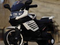 Motocicleta electrice pentru copii LQ158 20W STANDARD #Alb