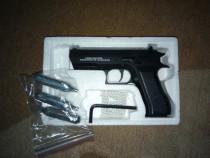 Pistol Airsoft Baby Desert Eagle,upgradat la 4 Joule+ 3 CO2