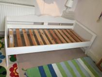 Pat copii cumparat de la Ikea, model Hensvik + Saltea
