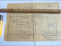 Chitanta, din 1972, de cumparare a unei icoane