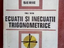 Culegere de matematica Ecuatii si inecuatii trigonometrice