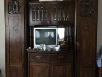 Bufet sufragerie, lemn stejar