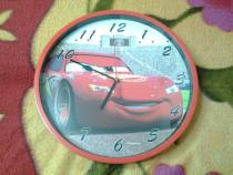 Disney Cars McQueen ceas de perete 25 cm (var. 1)