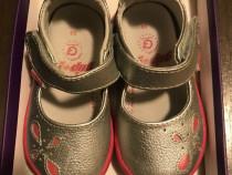 Pantofiori fetite pediped din piele marimea 20 model antoine