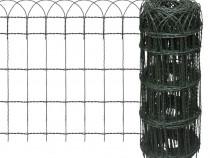 Gard delimitare grădină fier vopsit 141074