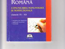 Limba si literatura romana,comunicare nonliterara si nonfict