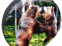 Cerb Husa Pentru Roata De Rezerva Cu Urs Tigru Misret